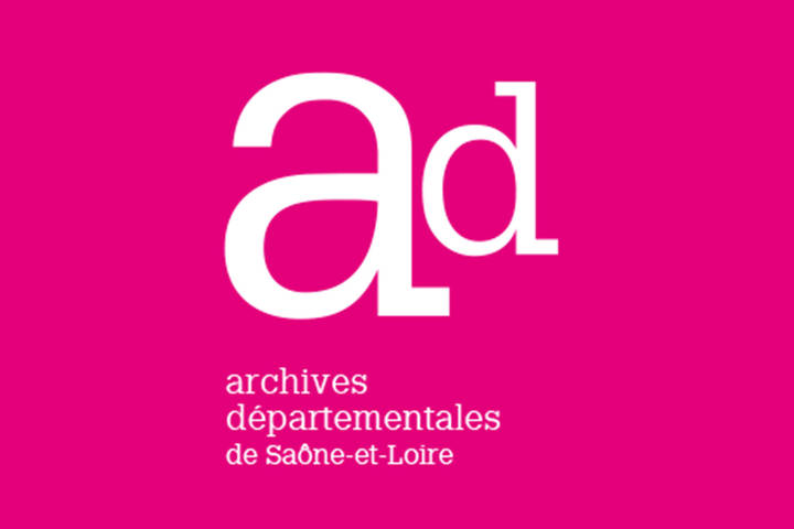 Archives départementales 71 logo