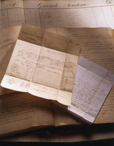 Photomontage d'archives anciennes conservées à l'AFB-0033ZH003502-20B