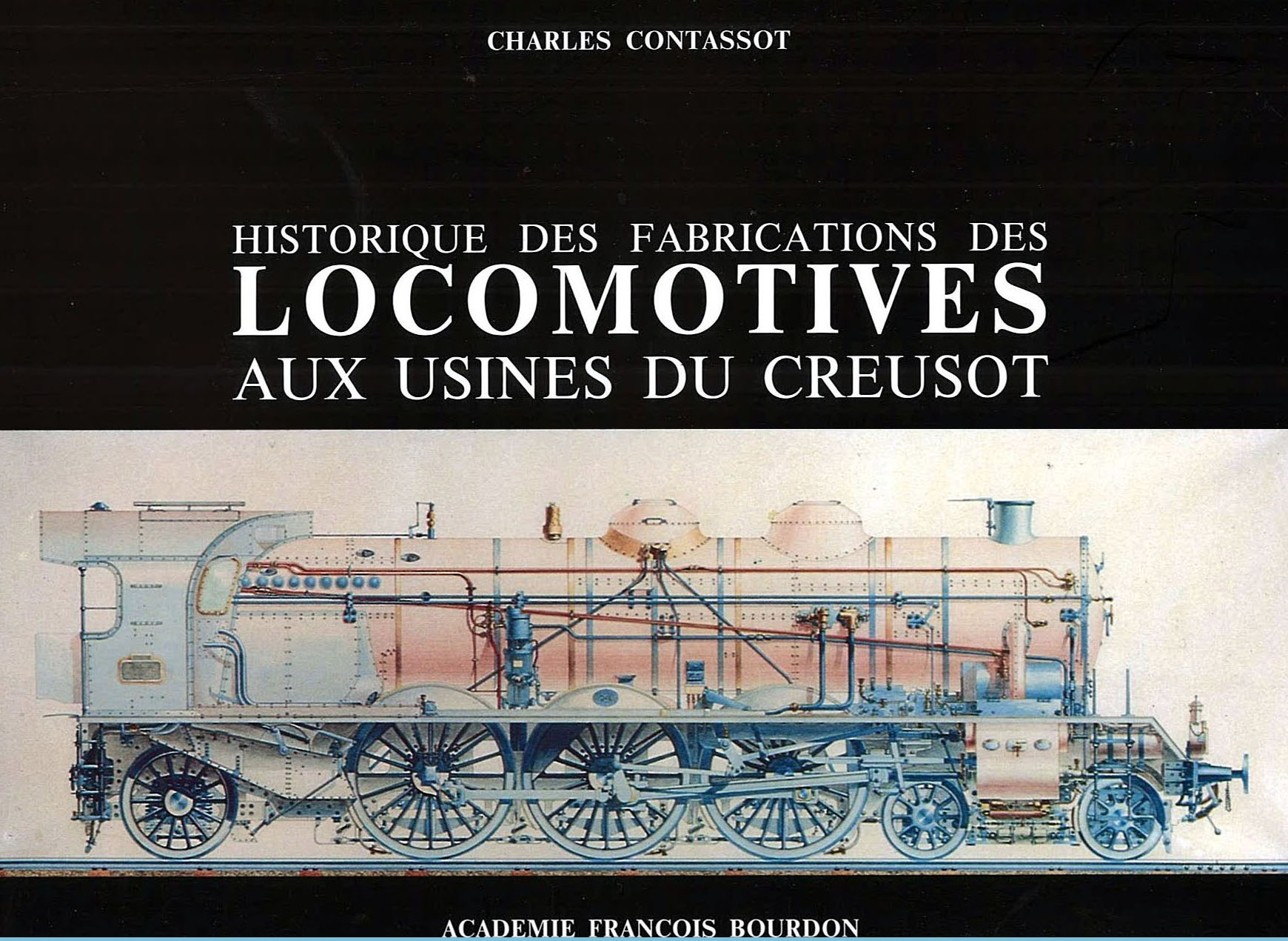 Livre Contassot Locomotives